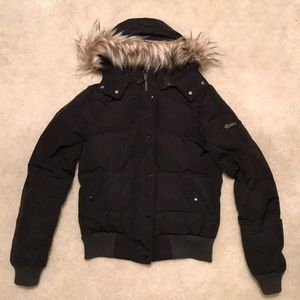 American Eagle Hooded Puffer Jacket